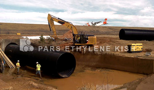 HDPE Pipe in airport