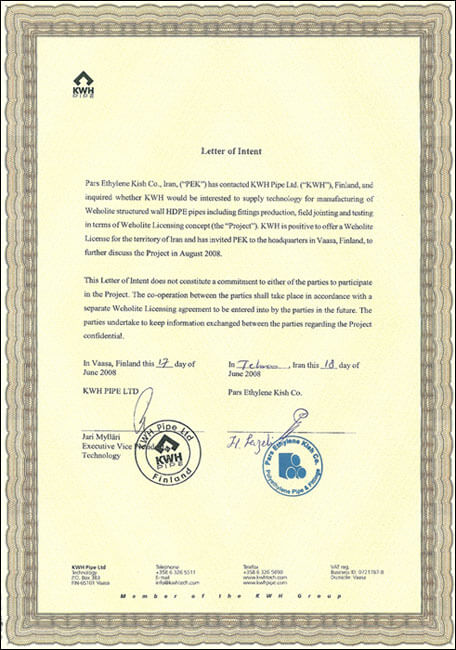 Memorandum kwh Finland