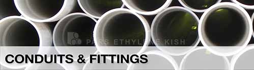 Conduits & fittings