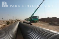 Corrugated WasteWater Pipelin