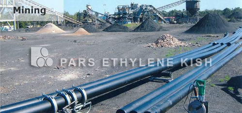HDPE Pipe in Mining