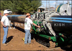 HDPE Pipe Gaining Ground