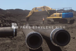 HDPE PIPE CONTROLS WATER LOSS IN DESERT