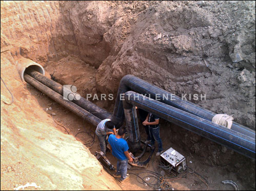 Transmition water pipeline