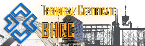 Technical Certificate of Road, Housing and Urban Development Research Center
