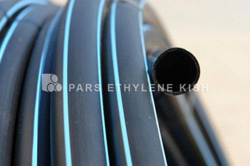 Polyethylene pressure pipe