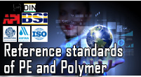 Reference standards of Polyethylene, PVC and polymer