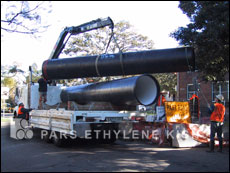 Waste Water Poly Ethylene Pipe