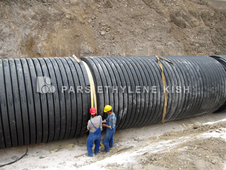 Sewer Pipe Instalation