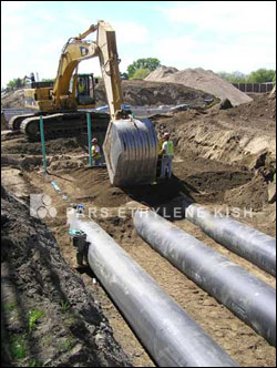 how to find water pipes underground