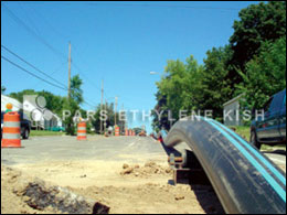 HDPE Pipe for Water Distribution System Upgrades