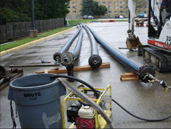 Pipe Bursting to Replace Water Main