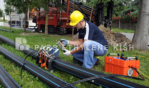 Welding of polyethylene pipes