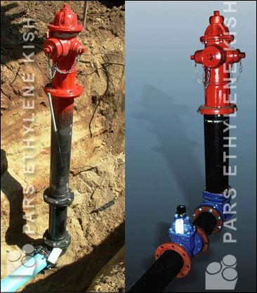 hydrant PE piping System