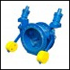 Titling Disk Check Valve With Counter Weight & hydraulic damper