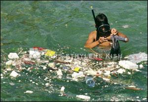 زباله در دریا ها